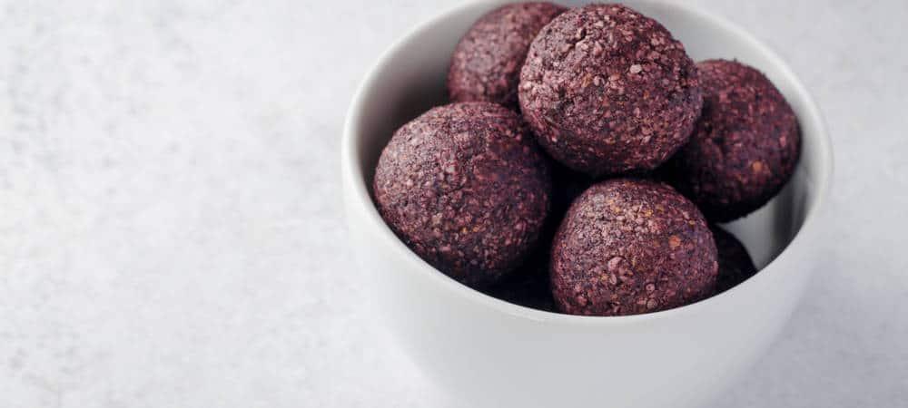 rawfood-bollar med hallon
