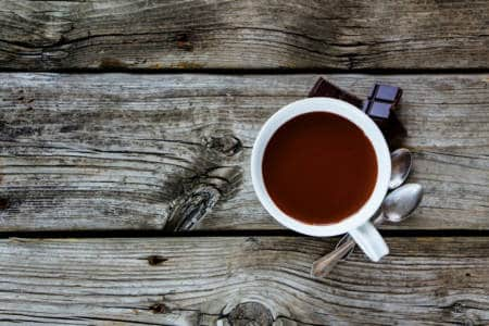 Nyttig varm choklad recept - Super Synbiotics